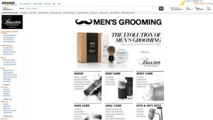 Amazon introduces new online store for men's grooming products